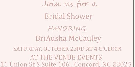 Briausha Bridal Shower tickets