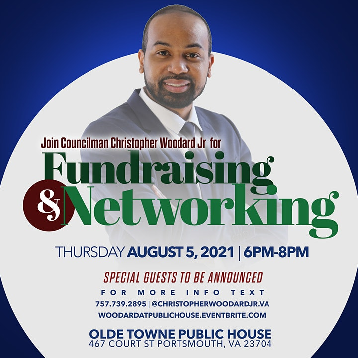 Woodard4Portsmouth Fundraiser at Public House Thurs Aug 5th image