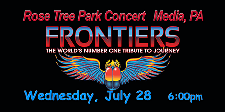 Rose Tree Park ~ Journey Tribute Band ~ Media, PA ~ Concert tickets