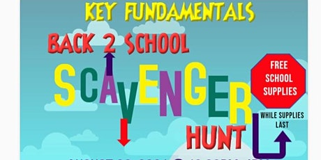 Back 2 School Scavenger Hunt tickets