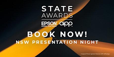 2021 AIPP Epson NSW Awards Presentation Night tickets