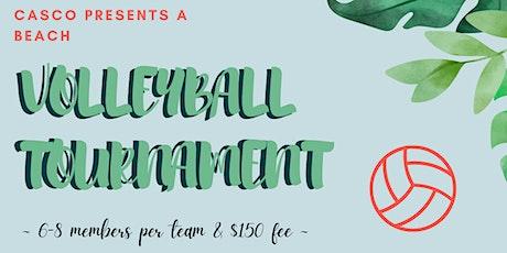 CASCO Beach Volleyball Tournament billets