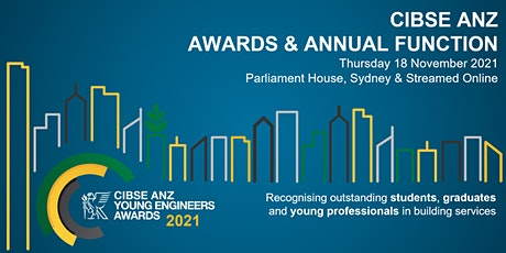 2021 CIBSE ANZ | Awards & Annual Cocktail Function tickets