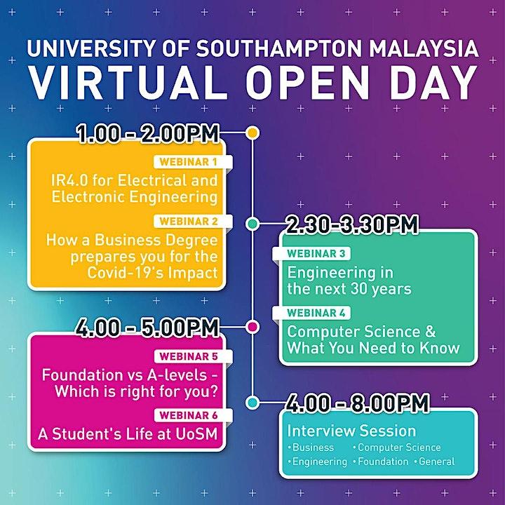 University of Southampton Malaysia Open Day image