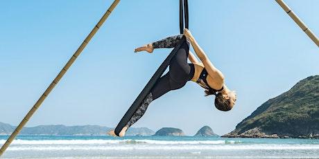Beach Aerial Yoga Workshop - ALL LEVELS tickets