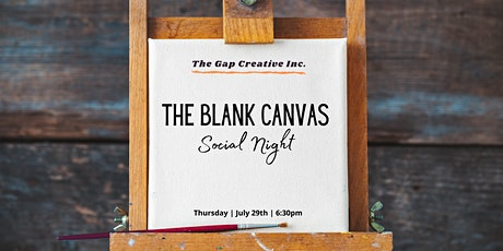 Blank Canvas Social Night tickets