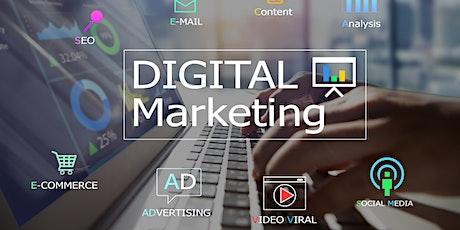 Weekends Digital Marketing Training Course for Beginners Boston tickets