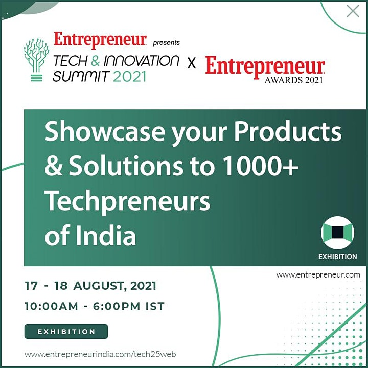 Tech & Innovation Summit x Entrepreneur Awards 2021 image