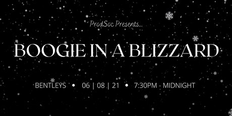 ProdSoc Ball: Boogie in a Blizzard tickets