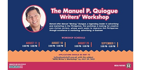 The Manuel P. Quiogue Writers' Workshop tickets