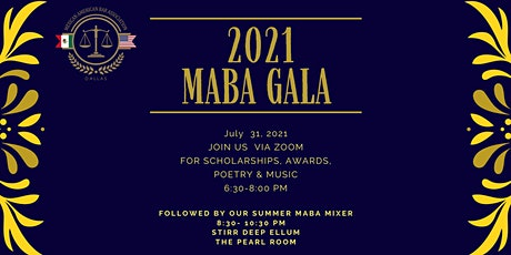 2021 MABA Dallas Virtual Gala and In-person MABA Mixer tickets