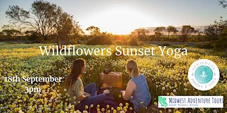 Wildflowers Sunset Yoga tickets