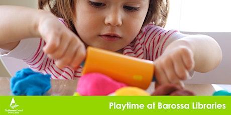 Barossa Libraries Play time - Nuriootpa Term 3 tickets