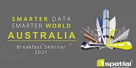 Smarter Data Smarter World - Melbourne tickets