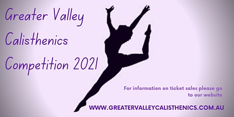 Greater Valley Calisthenics Competition tickets