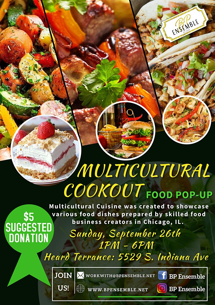 Multicultural Cookout! image