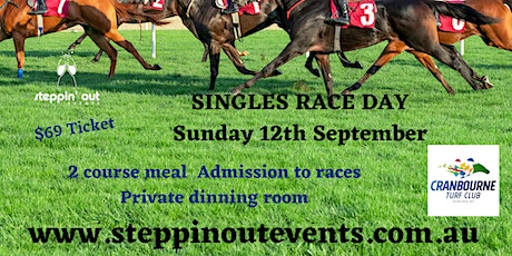 Singles - Day at the races - 2 course lunch - Private dining room tickets
