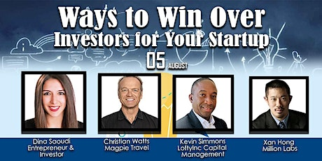 Ways to Win Over Investors for Your Startup tickets