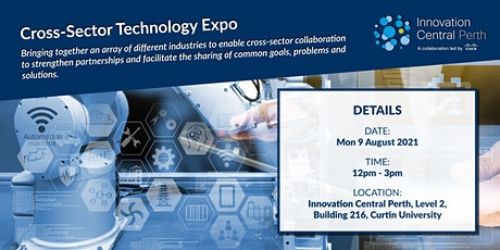 Cross-Sector Technology Expo tickets