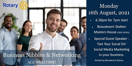 Business Nibbles & Networking tickets