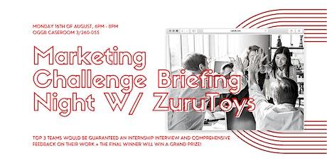 Marketing Challenge Briefing Night w/ Zuru Toys tickets