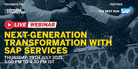 Next-Generation Transformation With SAP Services Tickets
