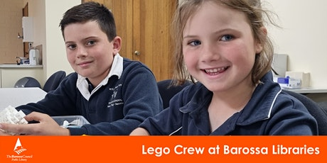 Barossa Libraries Lego Crew  - Nuriootpa Library tickets