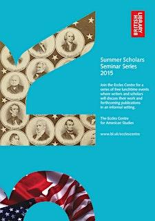 Eccles Centre Summer Scholars Series 2015 logo