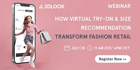 HOW VIRTUAL TRY-ON AND ACCURATE SIZING ARE TRANSFORMING FASHION RETAIL tickets