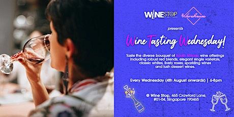 Wine Tasting Wednesdays! tickets