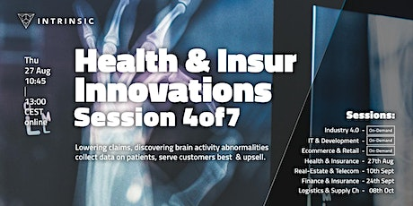 Health and Insurance Innovations Conference   Session 4of7 tickets