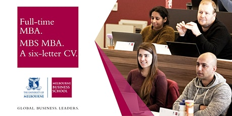 Full-time MBA - Information Session tickets