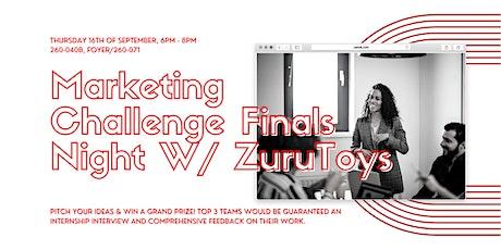 Marketing Challenge Finals Night w/ Zuru Toys tickets