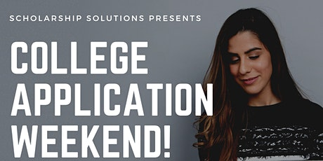 College Application Weekend tickets