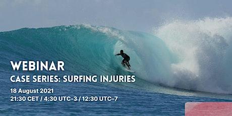 Surfing Medicine Webinar : Case Series Surfing Injuries bilhetes
