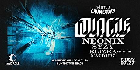 Orange County: Chune$day w/ Oolacile, Neonix, Syzy, Elizra & Macdubz tickets