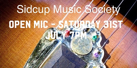 Sidcup Music Society Open Mic tickets