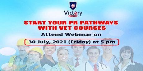 Webinar On PR Pathways With VET Courses tickets