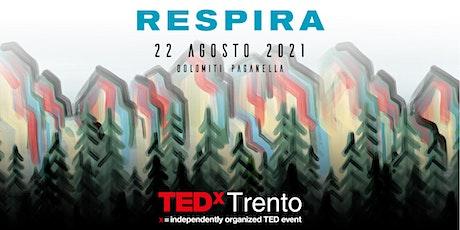 TEDxTrento - Respira! biglietti