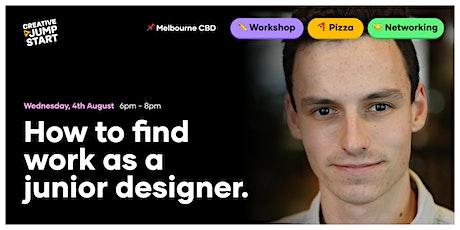 Junior Designer Meetup: Pizza, Networking, Workshop tickets
