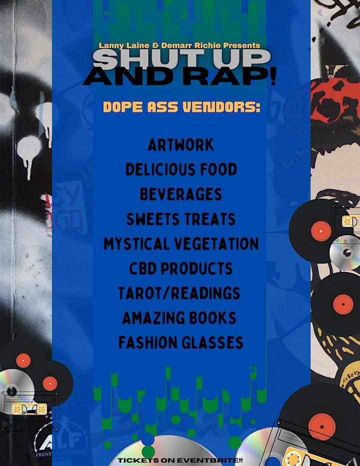 Shut Up And Rap Art & Music Showcase image