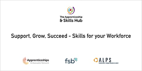 Support, Grow, Succeed - Skills for your Workforce tickets