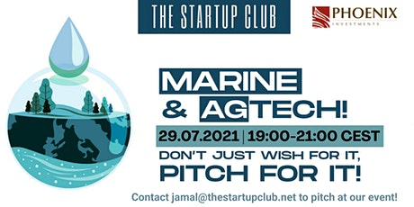 Marine & AgTech Pitch Night II tickets