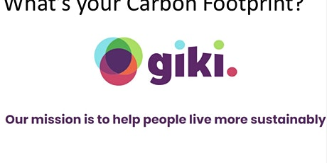 Carbon Footprint Friends lets get going - help and support is here tickets