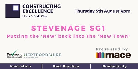 Stevenage SG1. Putting the 'New' back into the 'New Town'! tickets
