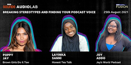 BBC Sounds Audio Lab Presents: Breaking Stereotypes & Finding Your Voice tickets