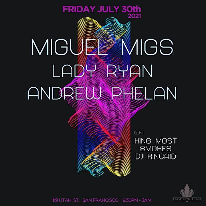 Miguel Migs | Lady Ryan | Andrew Phelan image