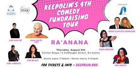 KeepOlim's Comedy Fundraising Tour  2021 @ Ra'anana tickets