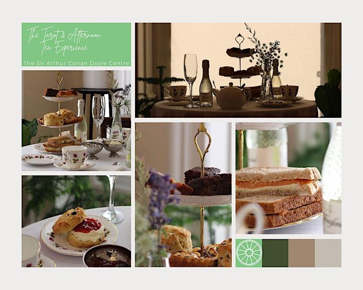 The Tarot Afternoon Tea   The Sir Arthur Conan Doyle Centre image