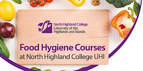 Elementary Food Hygiene - Thurso 5th October tickets